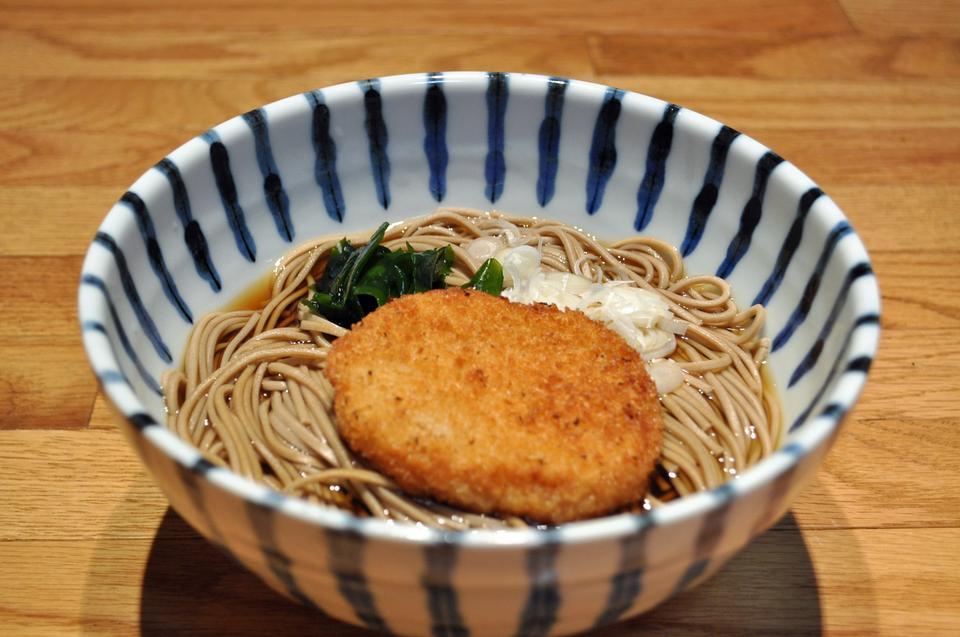 コロッケそば - 日本の麺