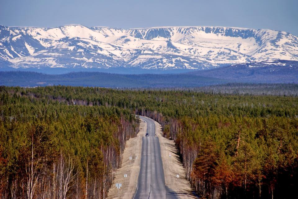 Rusia paisaje escénico Montañas