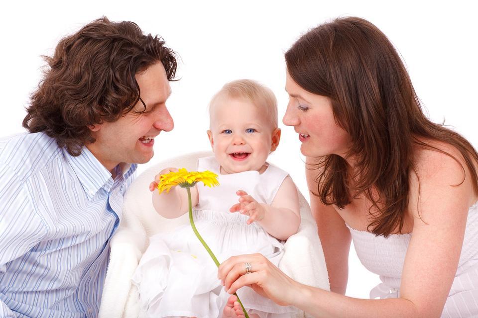 Baby Caucasian Child Daughter Family