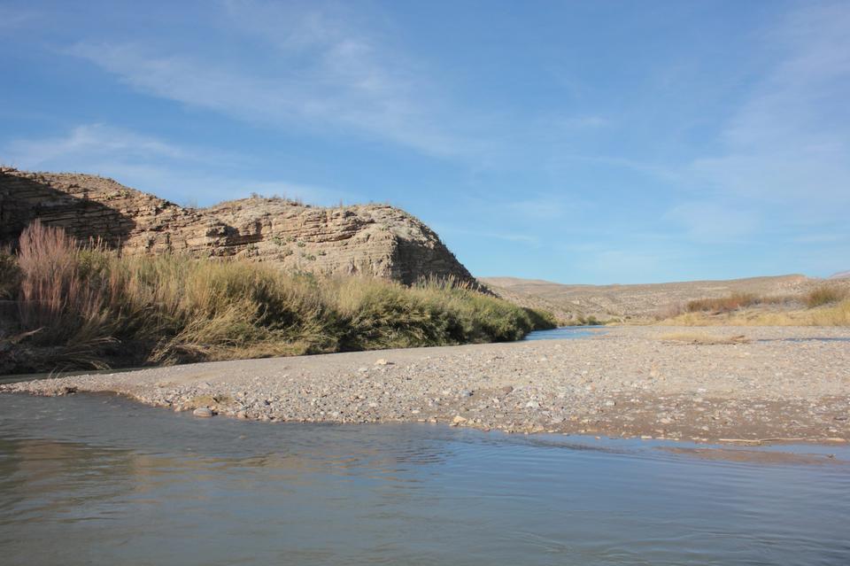 Pecos River Big Bend National Park Texas