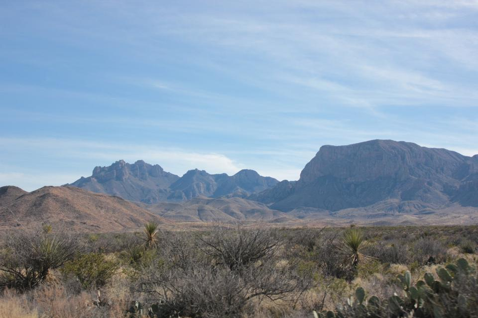 Chihuahuan Desert Big Bend National Park