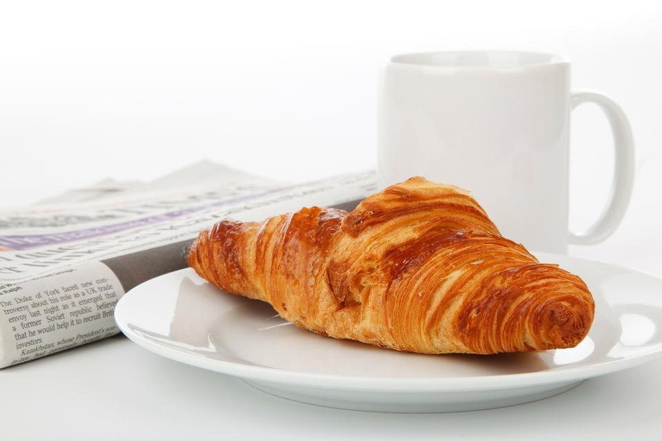 아침 식사 휴식