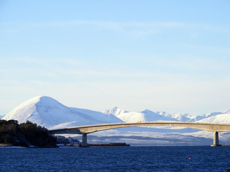 Le pont de Skye de Kyle of Lochalsh