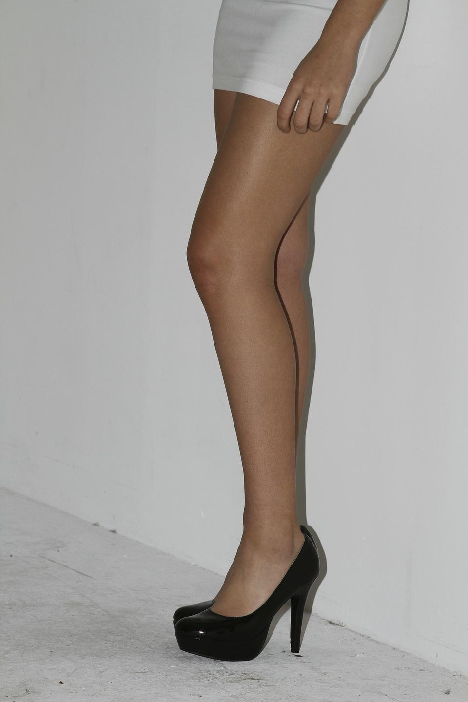 Attractive Long Sexy Legs Girl