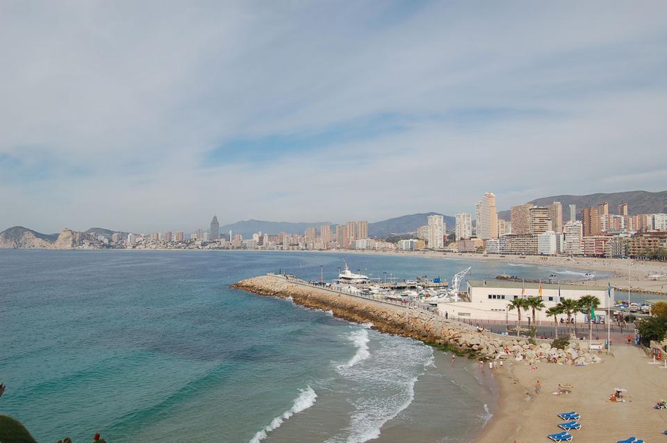 莱万特海滩 - 贝尼多姆西班牙巴伦西亚