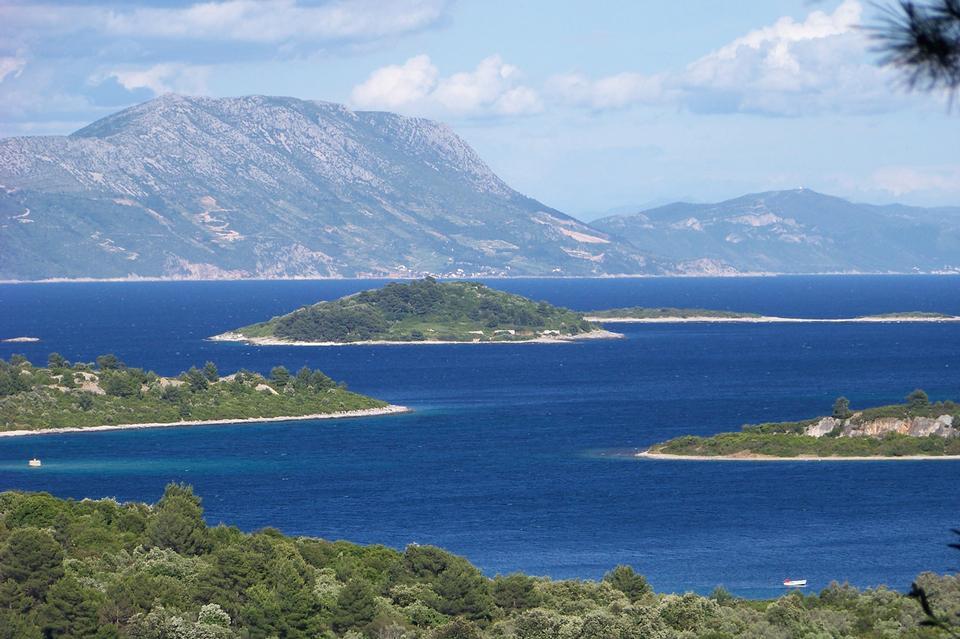 景觀科爾丘拉島克羅地亞