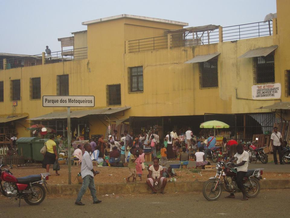 露天市场,圣多美和普林西比非洲