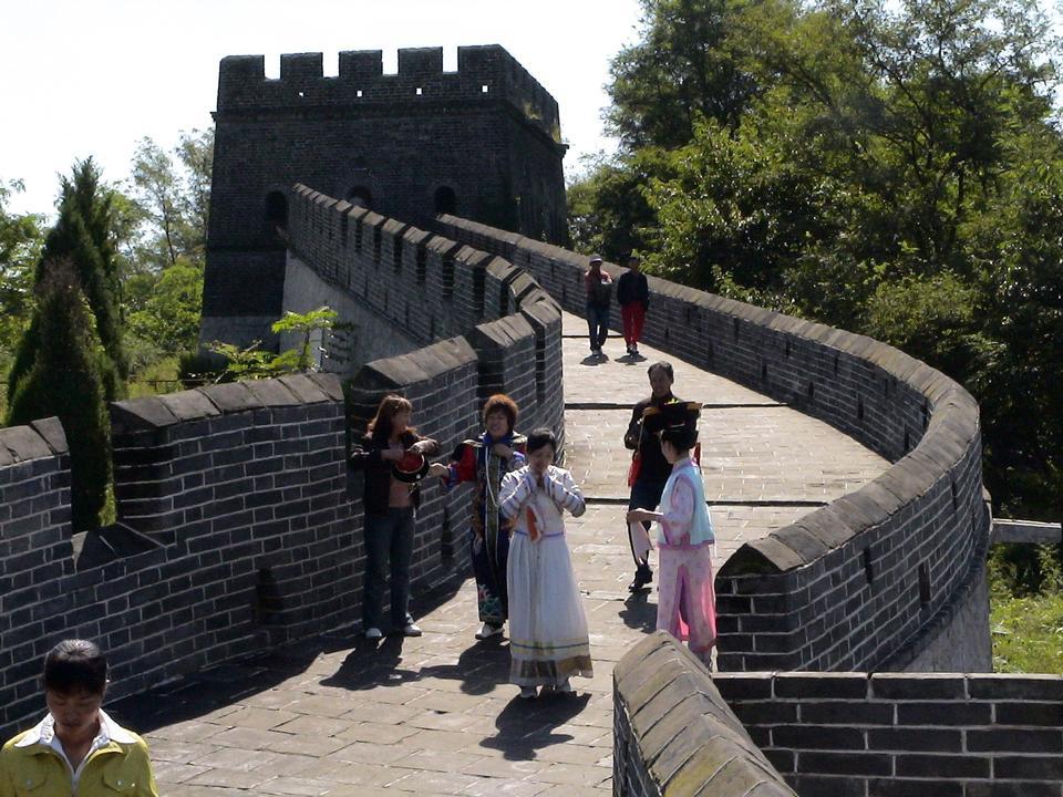 中国巡回赛的长城