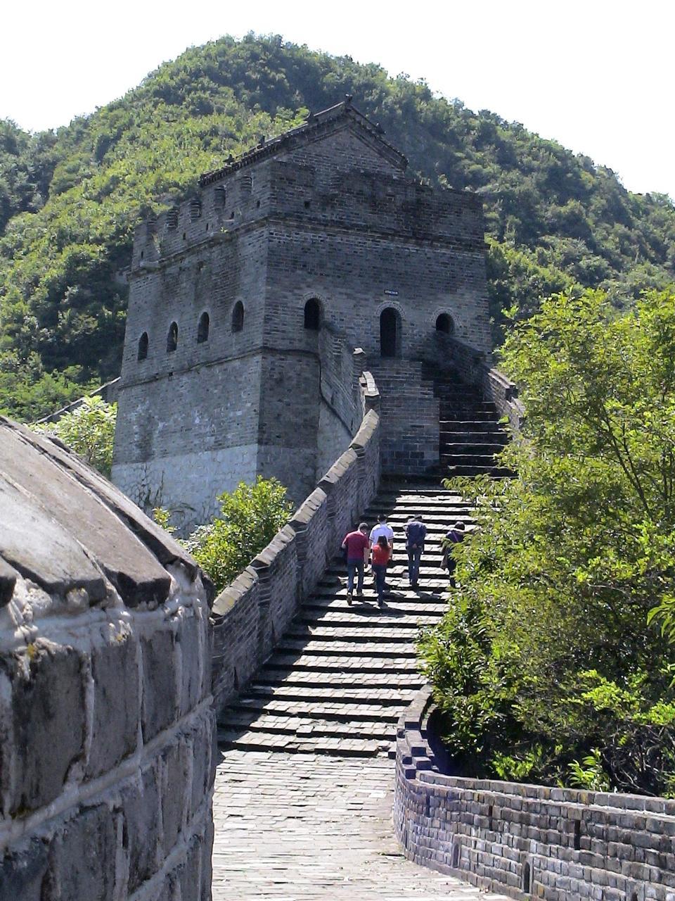 中国ツアーの万里の長城