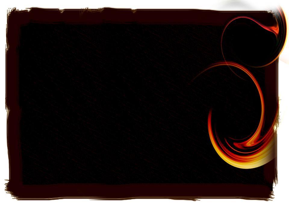 黒地に鮮やかな炎に抽象的な背景
