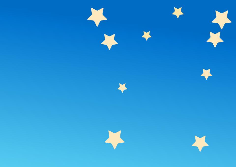 青でスター