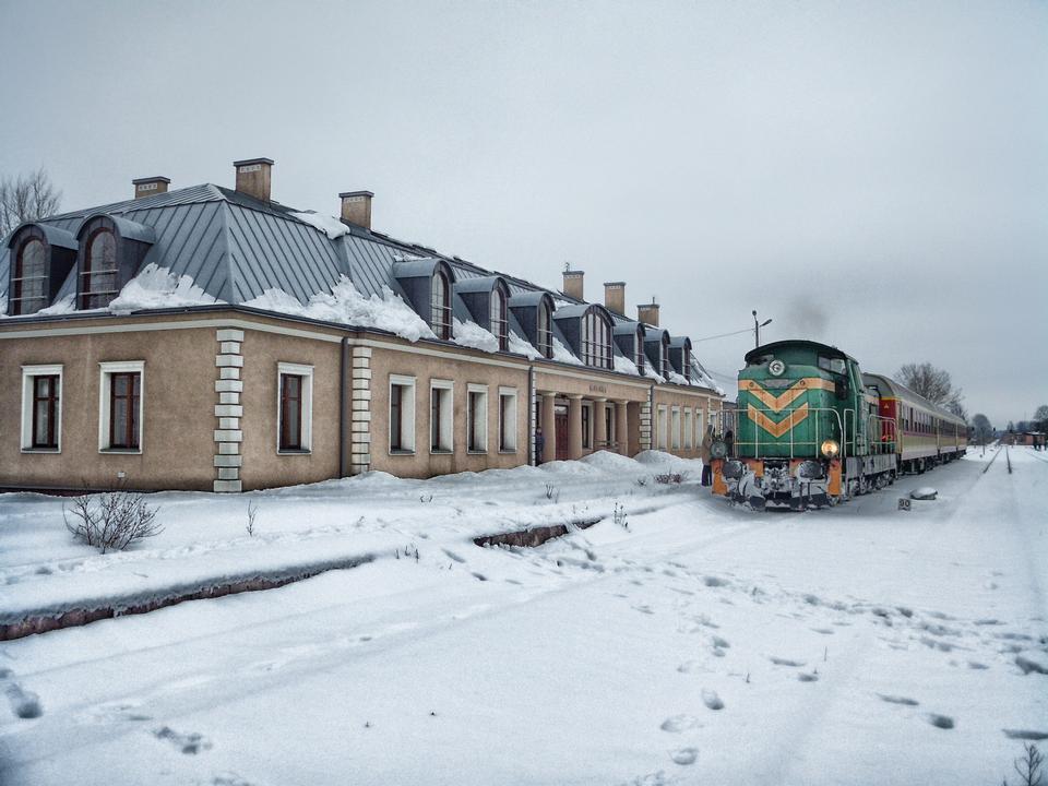 Podlaski波兰火车站