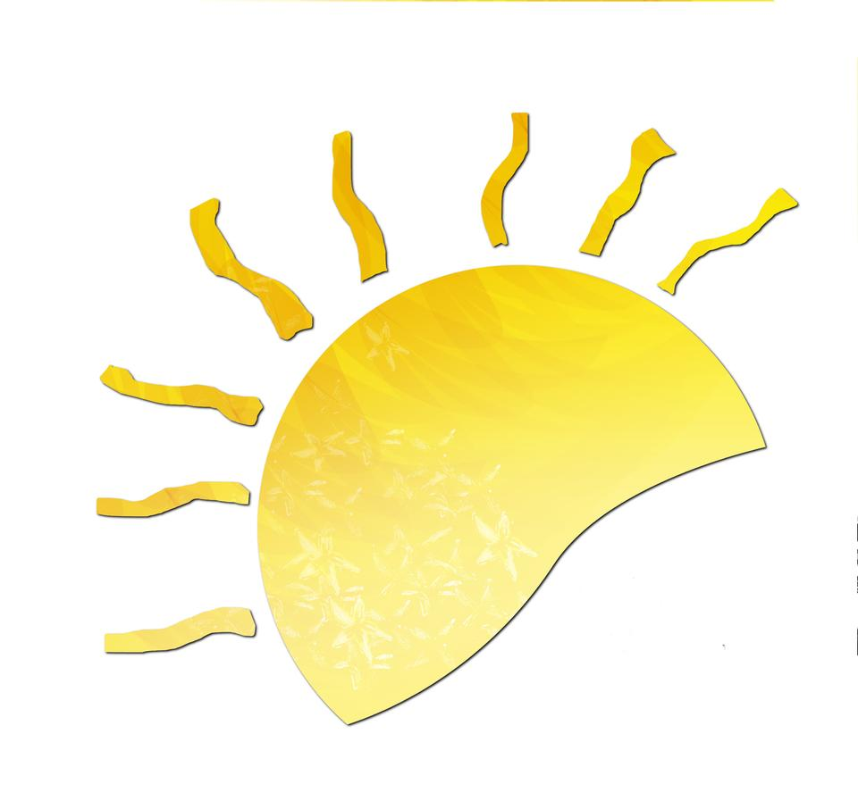 Sun illustration symbole