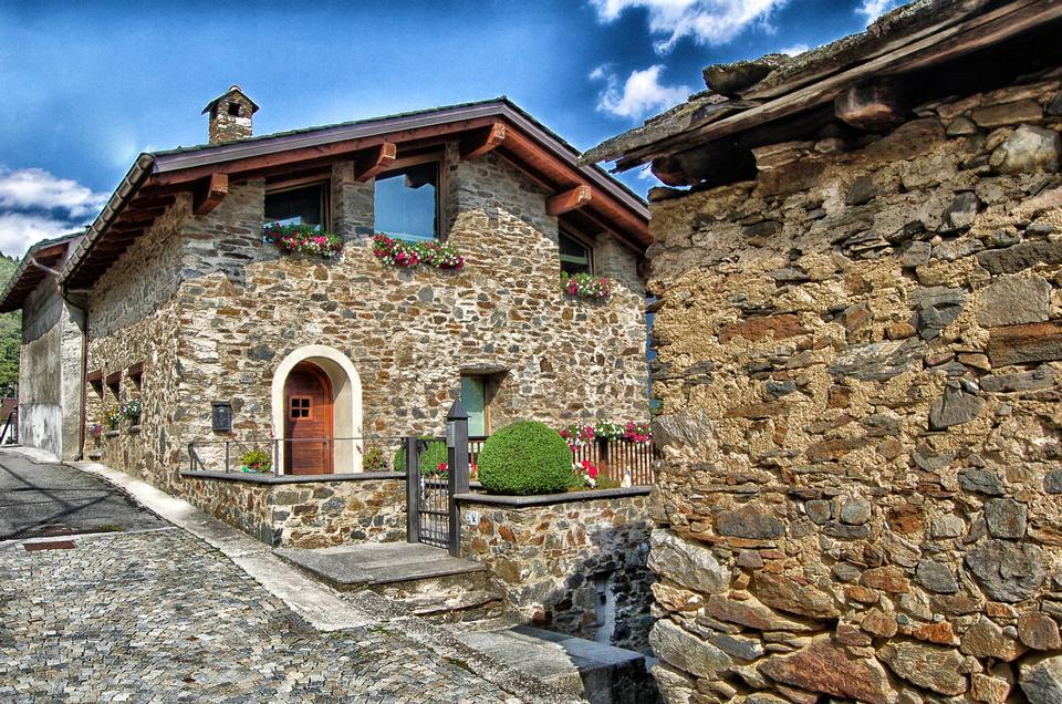 Maison traditionnelle Tirano en Italie