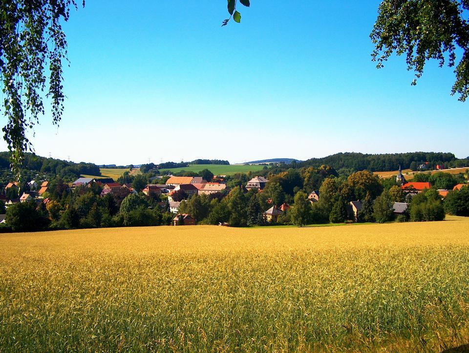 Landscape of Small Village