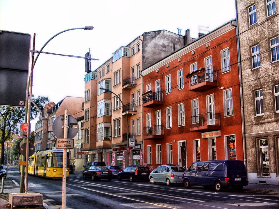 Street View de Berlin Allemagne