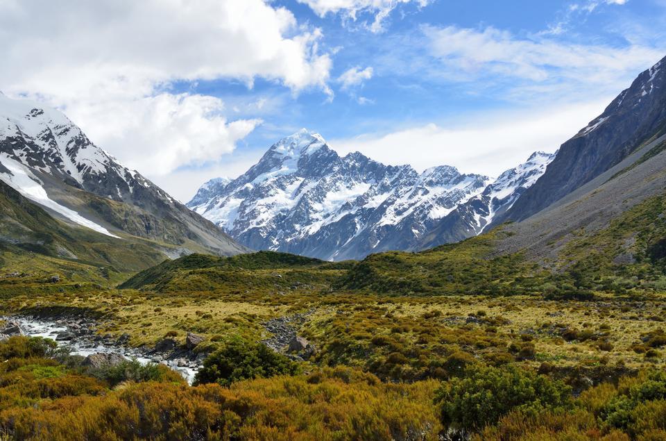 Aoraki  Mount Cook Mackenzie, New Zealand