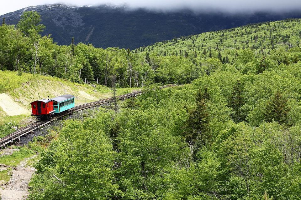 華盛頓山齒輪鐵路