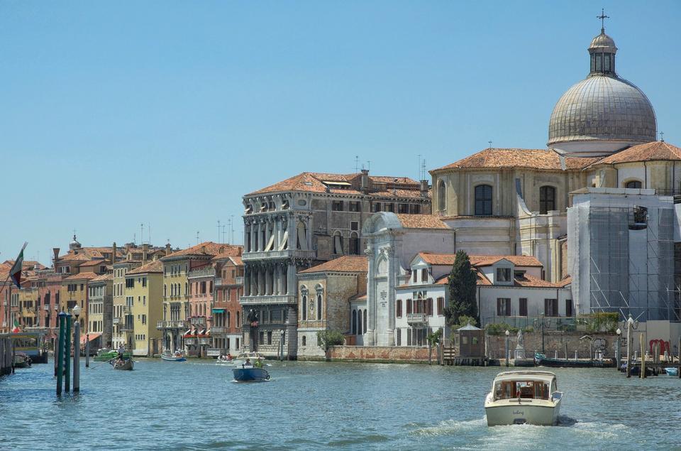 Paesaggio di Venezia Italia