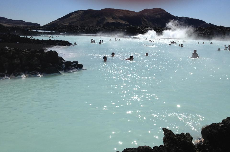 Hot Springs Blue Lagoon Iceland