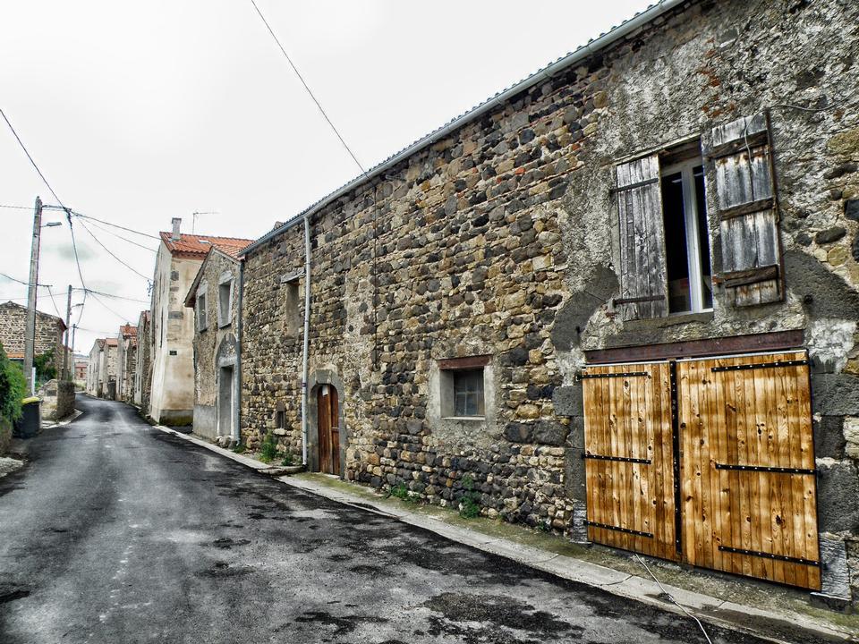 老城區的街道多姆山法國