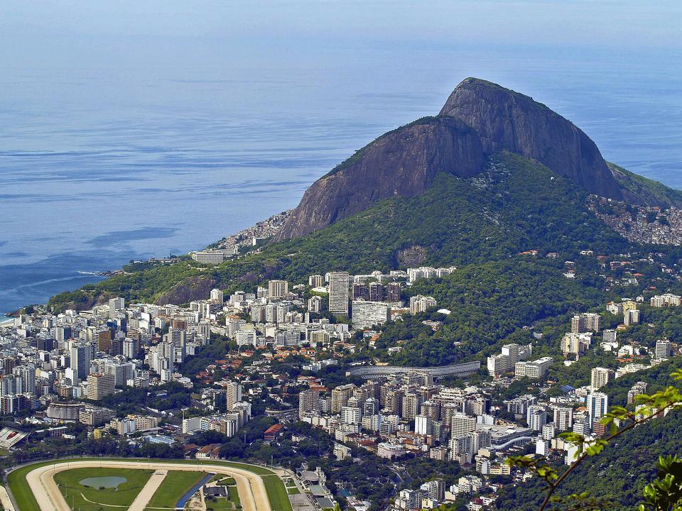 Cityscape Rio De Janeiro Brazil