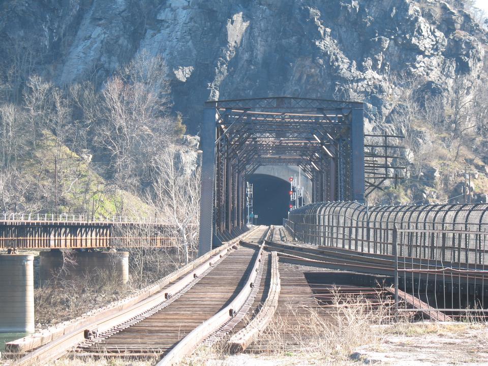 Railway Harpers Ferry, West Virginia