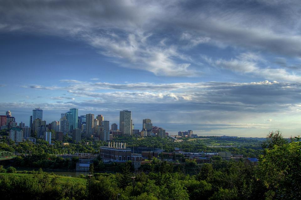 Gratte-ciel à Edmonton Canada