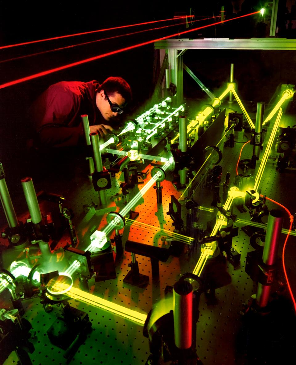 An Air Force Research Laboratory optical engineer
