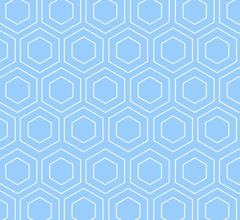 几何图案的蓝色背景
