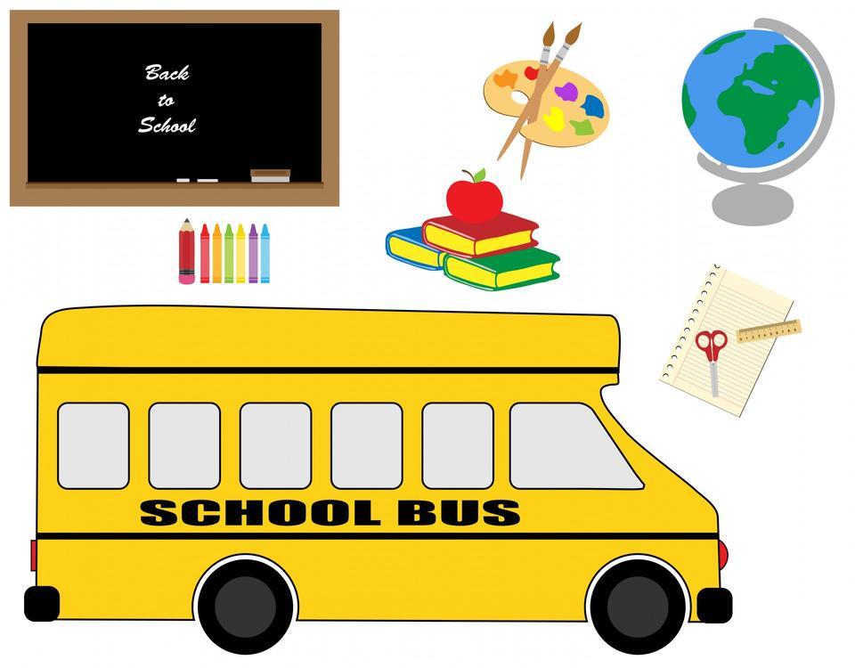 校车及文具