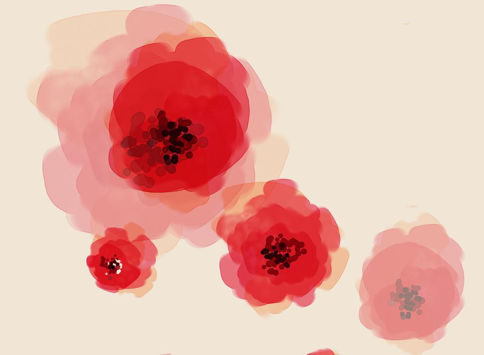 Flower Art Background