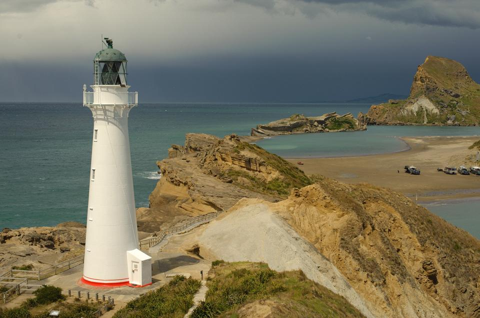 Landscape Lighthouse New Zealand