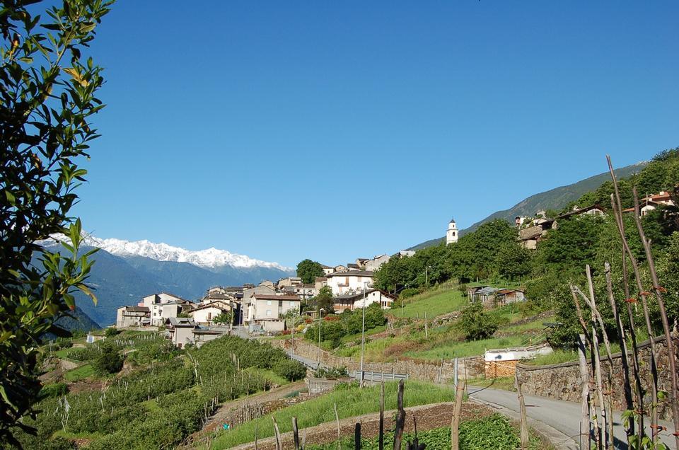 Landscape Tirano Italy
