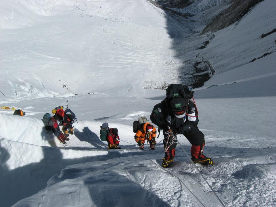 Escalade Imja Tse Himalaya au Népal