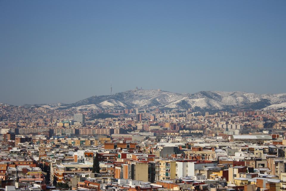 Cityscape Barcelone Espagne