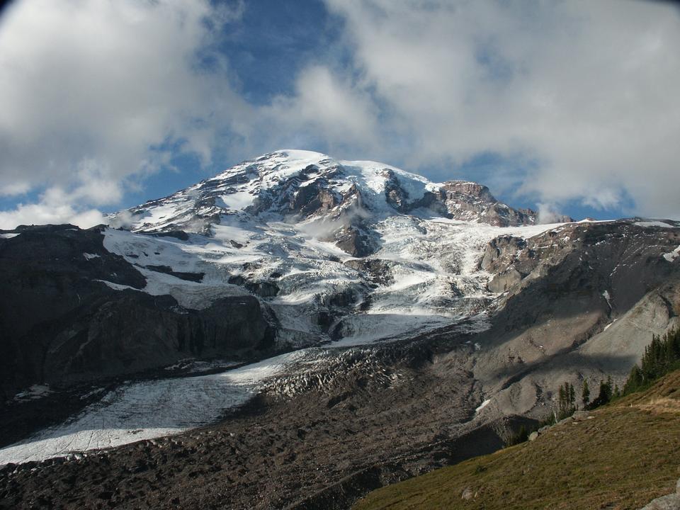 Mount Rainier from Glacier Vista, Paradise