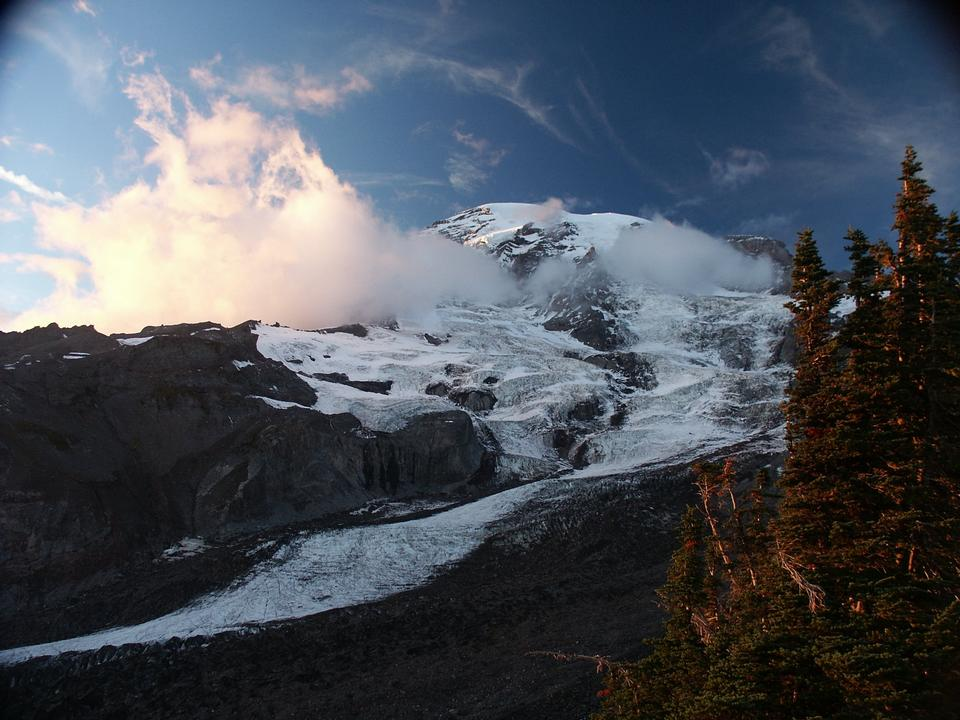 Mount Rainier from Alta Vista, Paradise