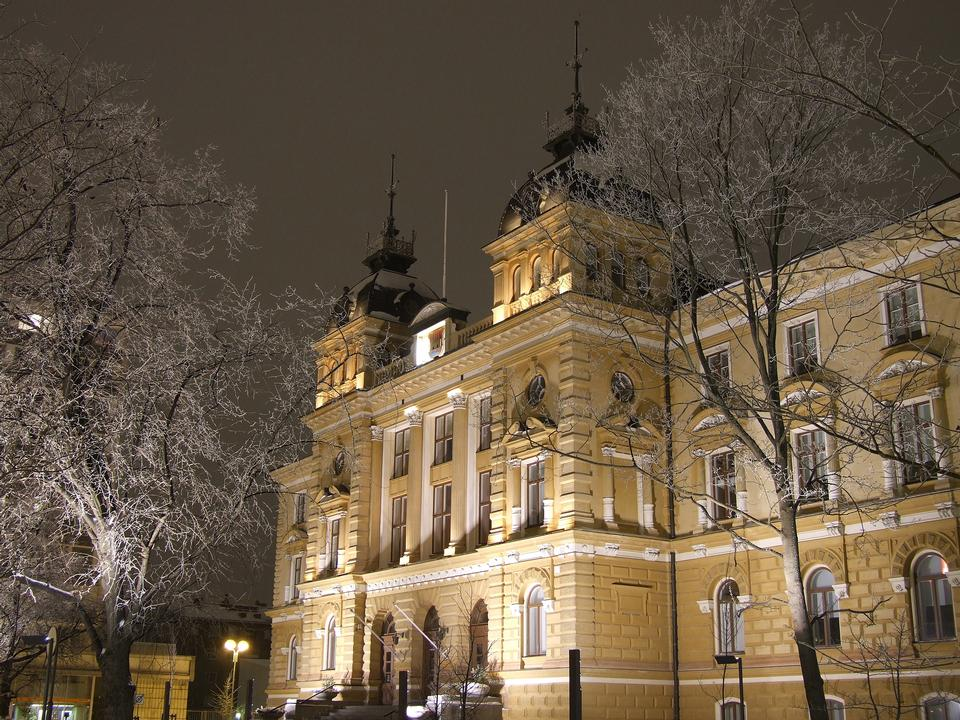 L'Oulu City Hall in Oulu, Finlandia