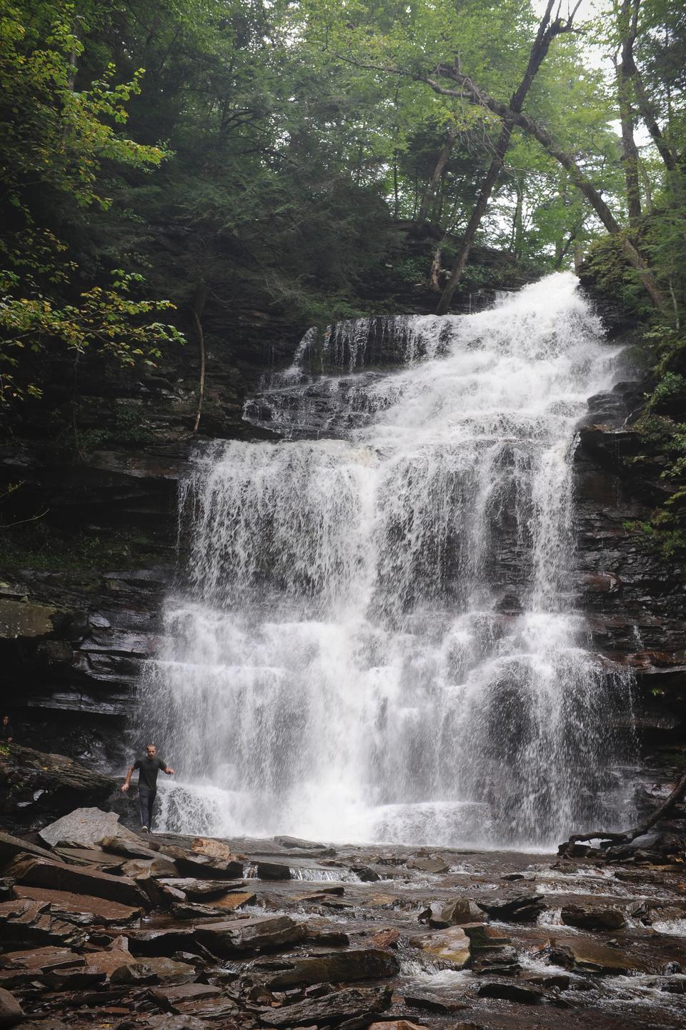 Рикеттс Glen State Park,
