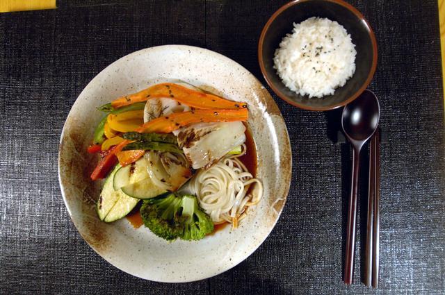 Abendessen Vegetarische Teriyaki