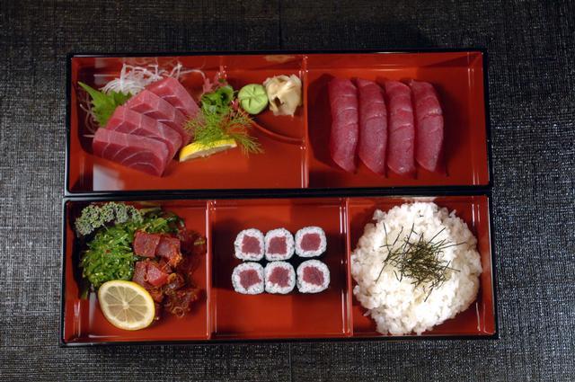 金槍魚晚餐便當盒