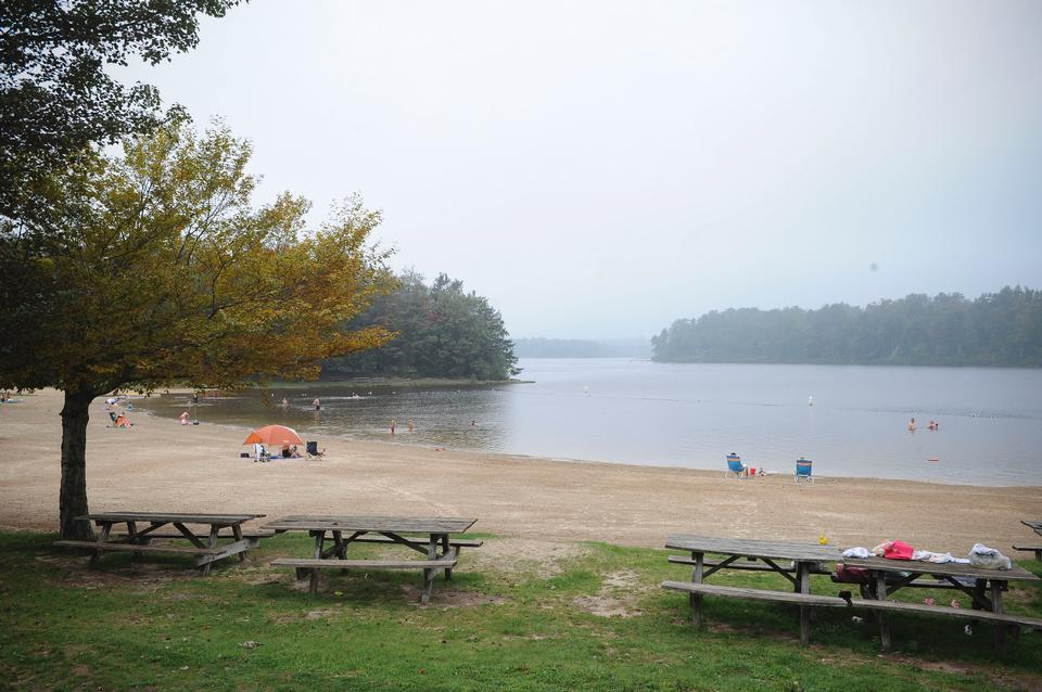 펜실베니아 리케츠 글렌 주립공원 - 호수 장