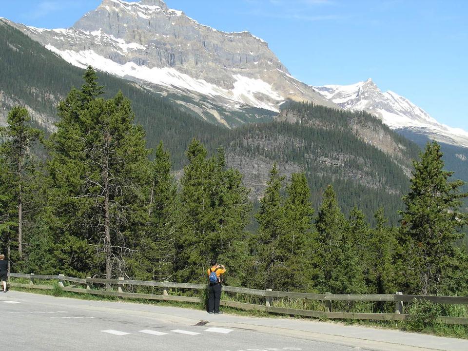 加拿大落基山公园徒步旅行