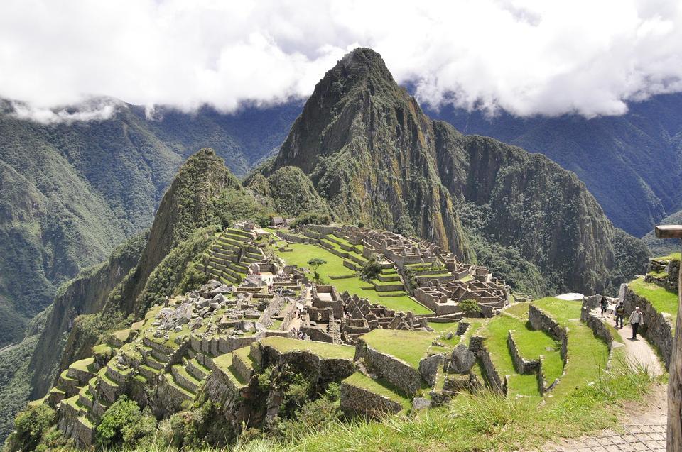 Cordillera de los Andes Cielo Machu Picchu