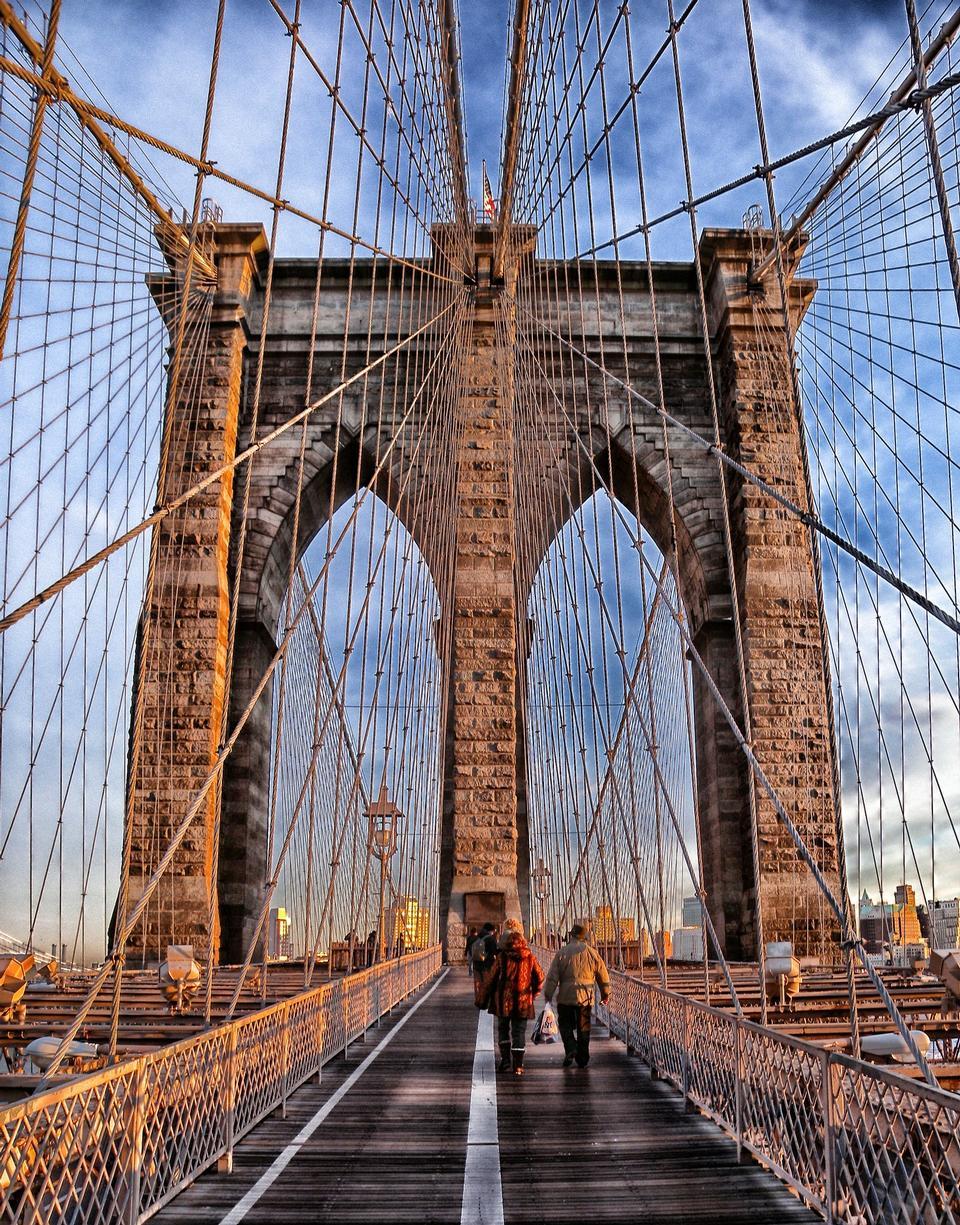 国家历史地标 - 布鲁克林大桥