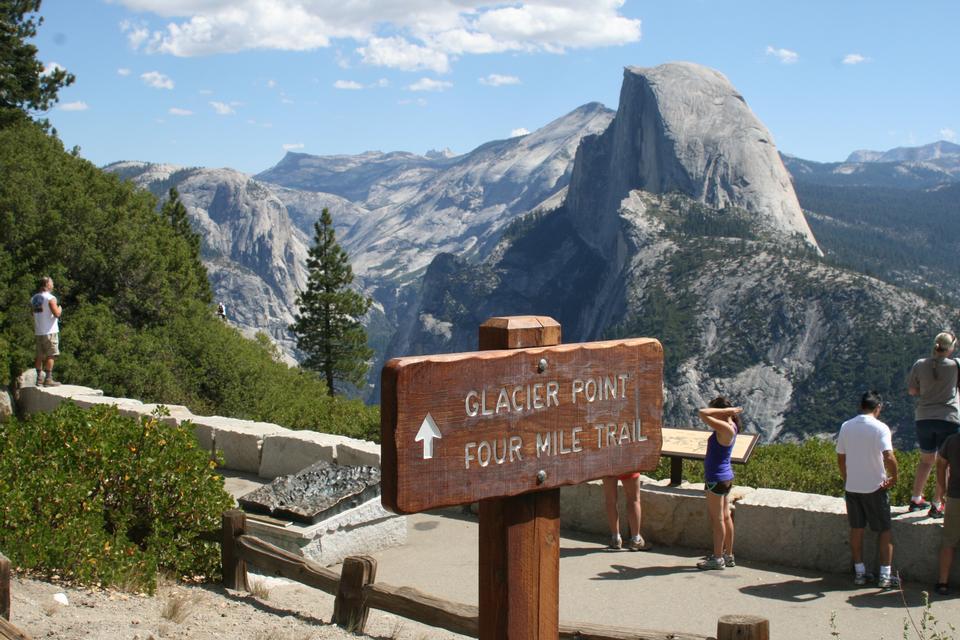 Parque Nacional de Yosemite Glacier Point Caminatas