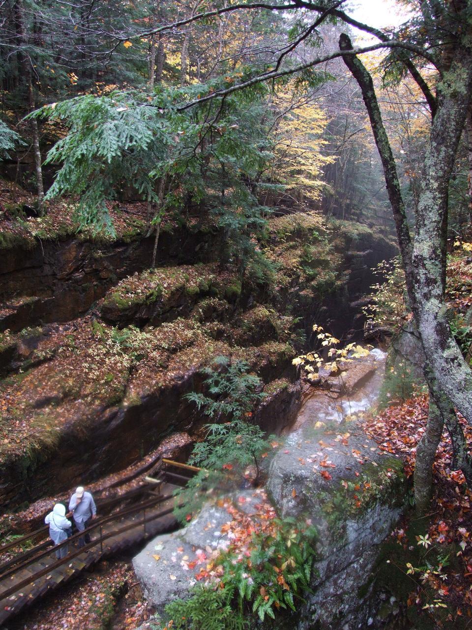 New Hampshire's White Mountains - Autumn Foliage