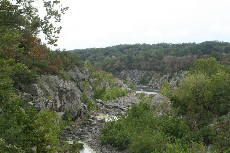 大瀑布:比利山羊特雷尔 - 波托马克,MD