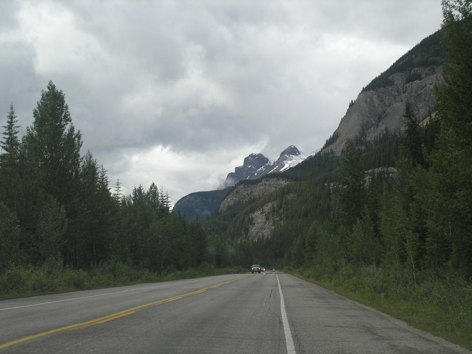 冰川国家公园加拿大班夫